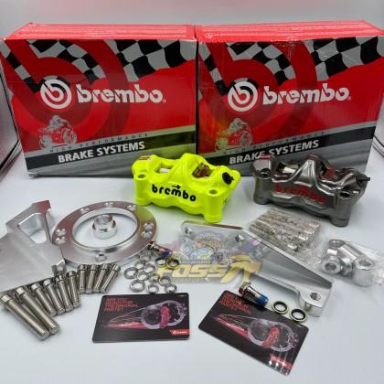 BREMBO GP4 Front Caliper Set Pump 4 POT Y15 Y15zr LC LC135 Y125 Y125ZR LC135 5S RXZ NVX 135 RS150 V1 V2 ZX150 N MAX NMAX