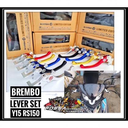 Brembo Lever Set Y15 Rs150 Motor Spare Motor Lever Brake Lever Clutch Lever Brek Motor