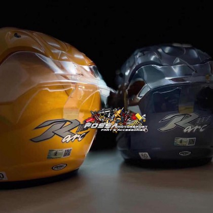 Arc Spoiler Motor Helmet Arc Spoiler Smoke Clear Motorcycles Helmets Arc Spoiler