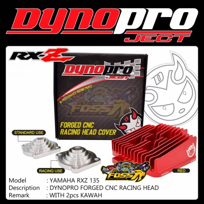 Dynopro RXZ Forged Racing Head Cover Cnc Alloy 7075