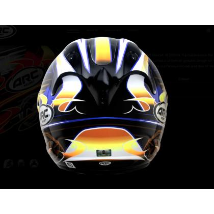 Arc helmet Ritz YF1 Blue [SPECIAL EDITION]