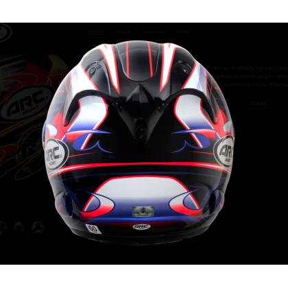 Arc helmet Ritz YF1 RED [SPECIAL EDITION]